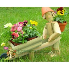 Gardener + Wheelbarrow