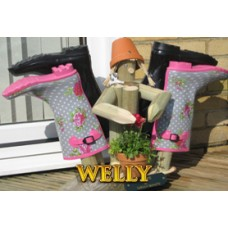 Double Wellington Boot Store & Stander